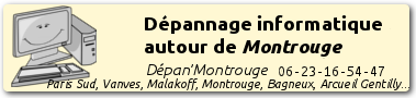 Dépannage informatique à Montrouge